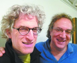 worldview  joel rubin  left  and uri caine