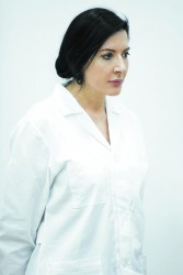 inwiththenew marina abramovic headshot 01 - photo by  laura ferrari