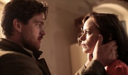 Ronald Zehrfeld (Johnny) and Nina Hoss (Nelly)