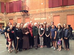 The Element Choir with Schafer. Photo credit I. Wisdom