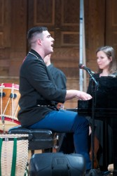 Jeremy Dutcher. Photo Courtesy of Toronto Consort