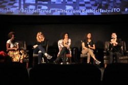 Bechdel Tested's last panel talk, on women in comedy. Photo credit: Akemi Liyanage.