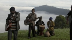 The Batwa Music Club in Ghosts of Our Forest.