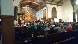 The Toronto Bach Festival performance of the St Mark Passion. Photo by the author.
