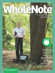 2209 TheWholeNote Summer 2017 WithGreenPages Cover Quarter