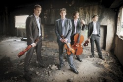 The Bennewitz Quartet. Photo credit: Kamil Ghais.