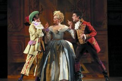 Patrick Jang, Carla Huhtanen and Phillip Addis in Opera Atelier's The Marriage of Figaro (2010). OA's revival of Figaro runs from October 26 to November 4.