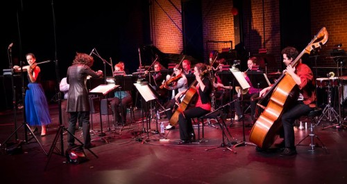 Ensemble contemporain de Montreal (ECM+), performing at ISCM 2017 on November 6, 2017. Photo credit: Jan Gates.