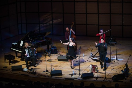 The Semer Ensemble in performance in Toronto, on November 8, 2017. Photo credit: Avital Zemer.