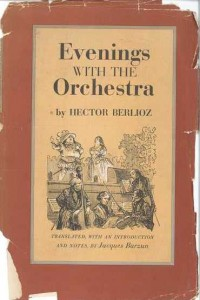 "The cover of Berlioz' book, ""Evenings with the Orchestra."""
