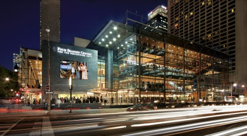 The Four Seasons Centre for the Performing Arts - Photo by Sam Javanouh
