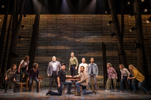 The cast of Come From Away (Canadian Company). Photo credit: Matthew Murphy.