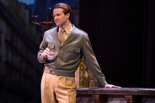 McGee Maddox as Jerry in An American in Paris