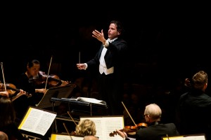 Gustavo Gimeno conducts the TSO. Photo credit: Jag Gundu.