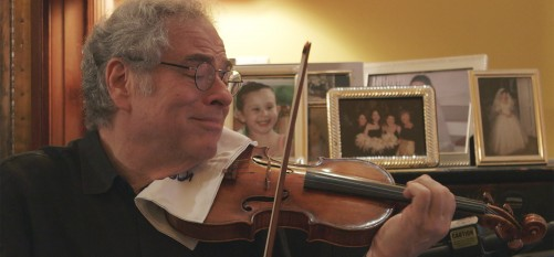 Itzhak Perlman in 'Itzhak' - photo by Films We Like