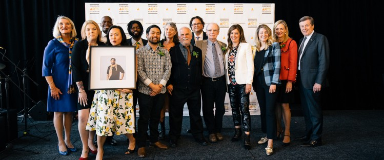 Recipients of the 2018 Toronto Arts Foundation Awards. Photo courtesy of the Toronto Arts Foundation.