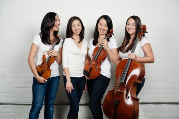 Ensemble Made in Canada (from left) Elissa Lee, Angela Park, Sharon Wei and Rachel Mercer - Photo by Bo Huang