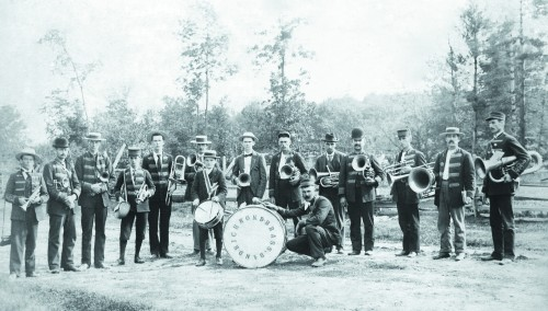 The Bayham-Richmond Band, part of the Baseball and Brass Bands exhibit at the Elgin County Museum until December 22. COURTESY OF ELGIN COUNTY MUSEUM