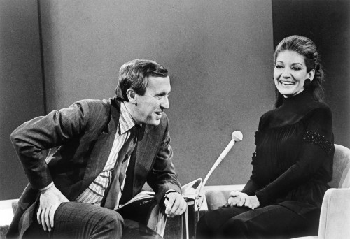 David Frost and Maria Callas. Photo credit: mk2 Mile-End.