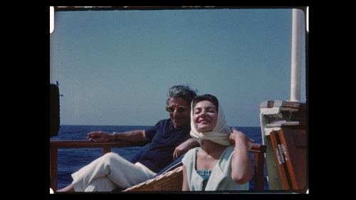 Aristotle Onassis and Maria Callas.