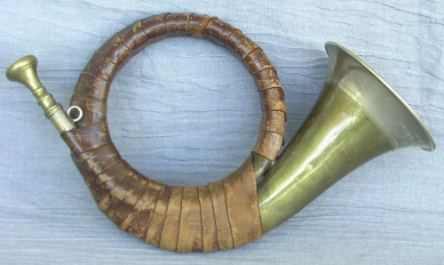 Post Horn from the Grinnell College Musical Instruments Collection
