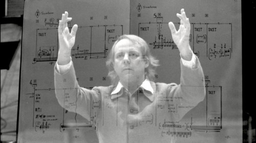 Karlheinz Stockhausen, 1980. Photo by Claude Truong Ngoc.