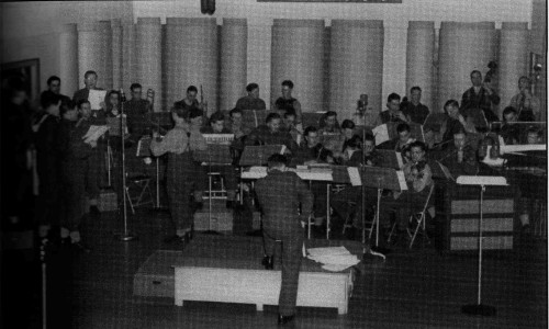 Army Show Orchestra, February 1943