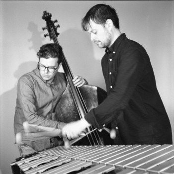 Michael Davidson (vibraphone) and Rob Fortin (bass)