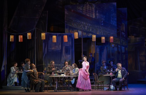 A scene from the Canadian Opera Company production of La Boheme, 2013. Photo by Michael Cooper