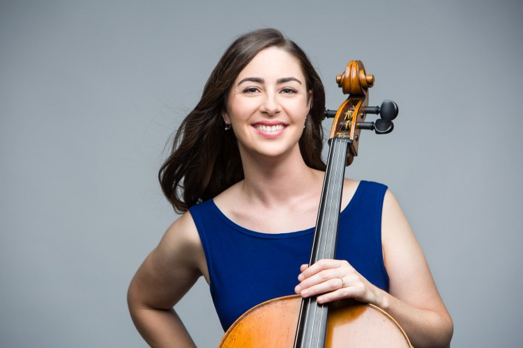 Cellist Erika Nielsen. Photo credit: Shayne Gray.