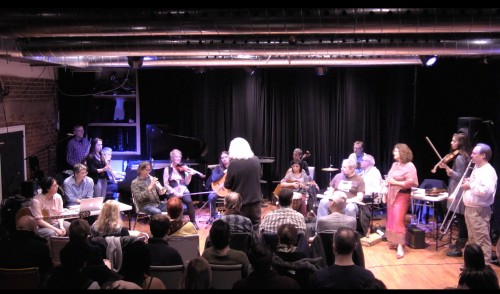 Toronto Improvisers Orchestra at Array Space with Christine Duncan and the Element Choir