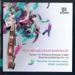 12 Mendelsson Concert and String Symphonies
