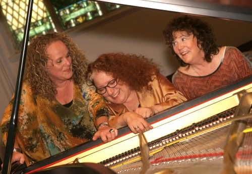 Broadsway (from left): Heather Bambrick, Julie Michels, Diane Leah. Photo by Karen E Reeves