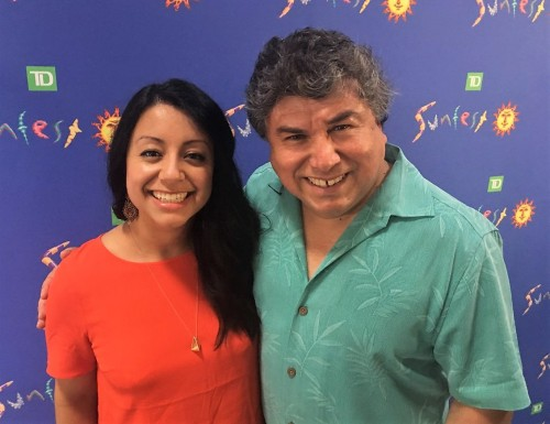 Mercedes and Alfredo Caxaj, Sunfest co-artistic directors