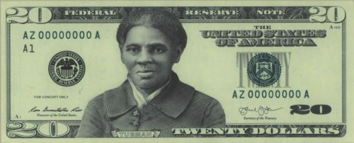 A previously unreleased conceptual design of a new $20 note that was produced by the Bureau of Engraving and Printing and obtained by The New York Times depicts Harriet Tubman in a dark coat with a wide collar and a white scarf. This preliminary design was completed in late 2016.
