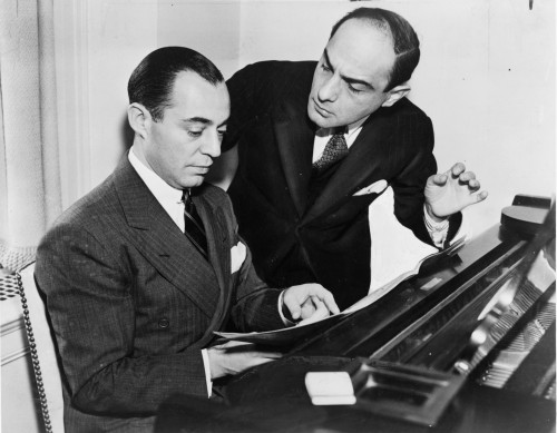 Richard Rodgers (left) and Lorenz Hart
