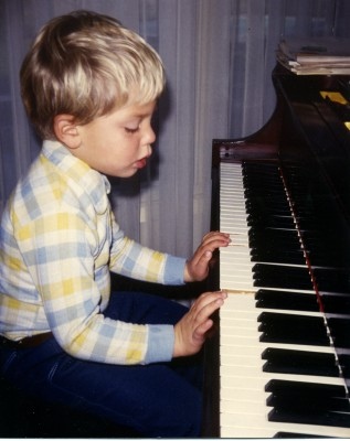 """I'm so grateful that my parents made me practise - I still use the piano in my work every day"""