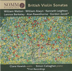 01 British Violin Sonatas