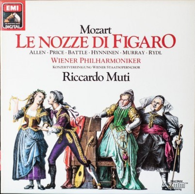 "In Muti's Figaro, Patrizia Pace is Barbarina who, Gramophone magazine says, ""packs a world of pathos into her Cavatina."""