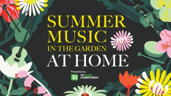 Summer Music in the Garden at Home