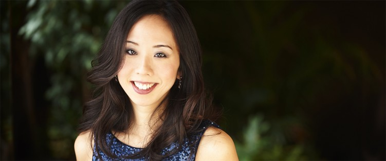 Pianist Angela Park. Photo credit: David Leyes.