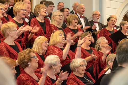 Achill Choral Society, in happier days.