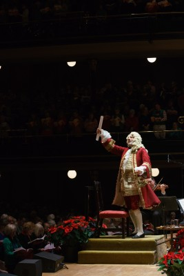 Tafelmusik's Sing-Along Messiah, 2017. Photo JEFF HIGGINS