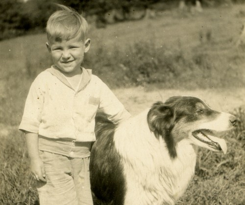 Jack as a child (circa 1930) in Walkerville, now part of Windsor ON.