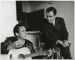My Father and the Man in Black Johnny Saul Guitar 1962 PRINT