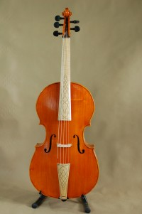 An example of a five-string piccolo cello. Image via stringking.net.