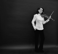 Tafelmusik's music director Elisa Citterio. Photo credit: Monica Cordiviola.