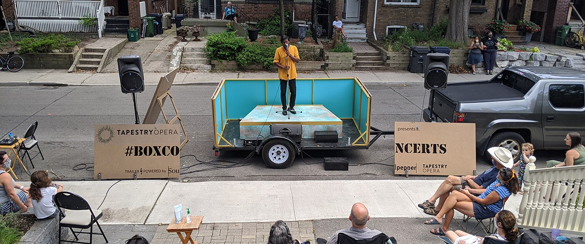 Concert report: Box Concerts take opera outside – and to audiences