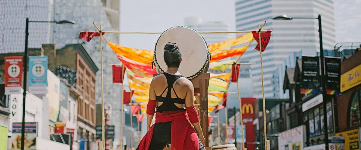 Embodying Empowerment: Raging Asian Women's Toronto Taiko Festival